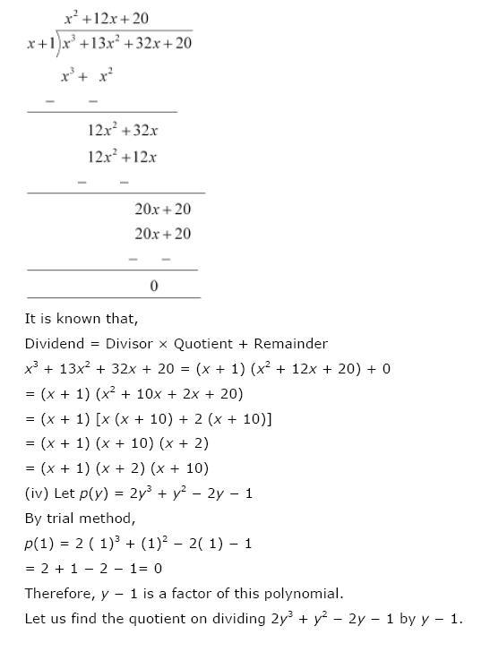 Polynomials NCERT Solutions 28