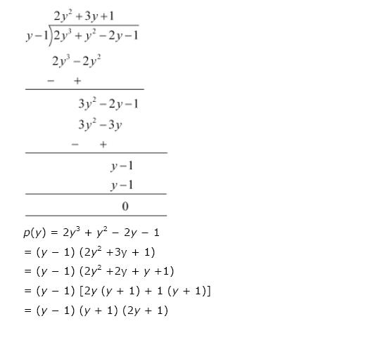 Polynomials NCERT Solutions 29