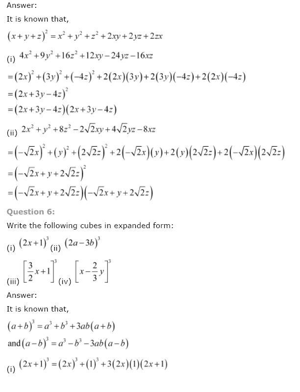 Polynomials NCERT Solutions 34