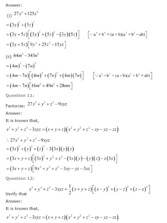 Polynomials NCERT Solutions 39