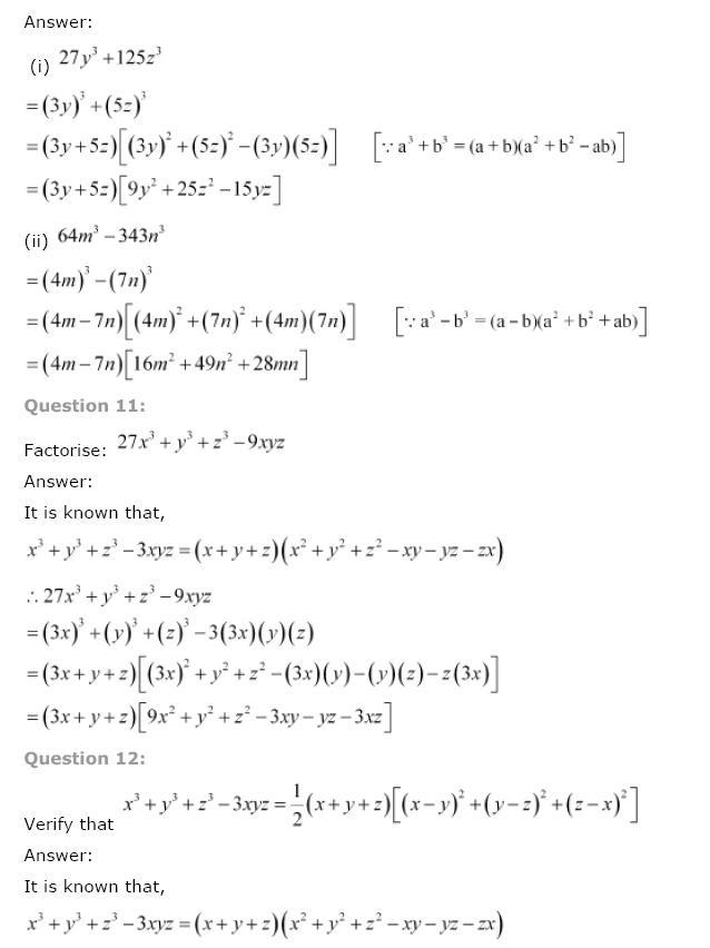 Polynomials NCERT Solutions 39