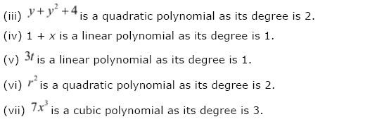 Polynomials NCERT Solutions 4