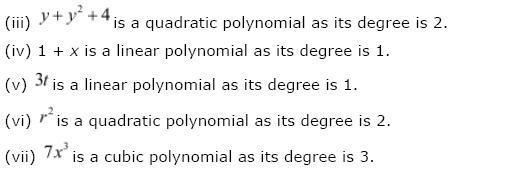 Polynomials NCERT Solutions 4
