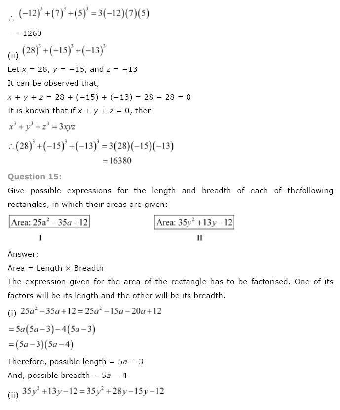 Polynomials NCERT Solutions 41
