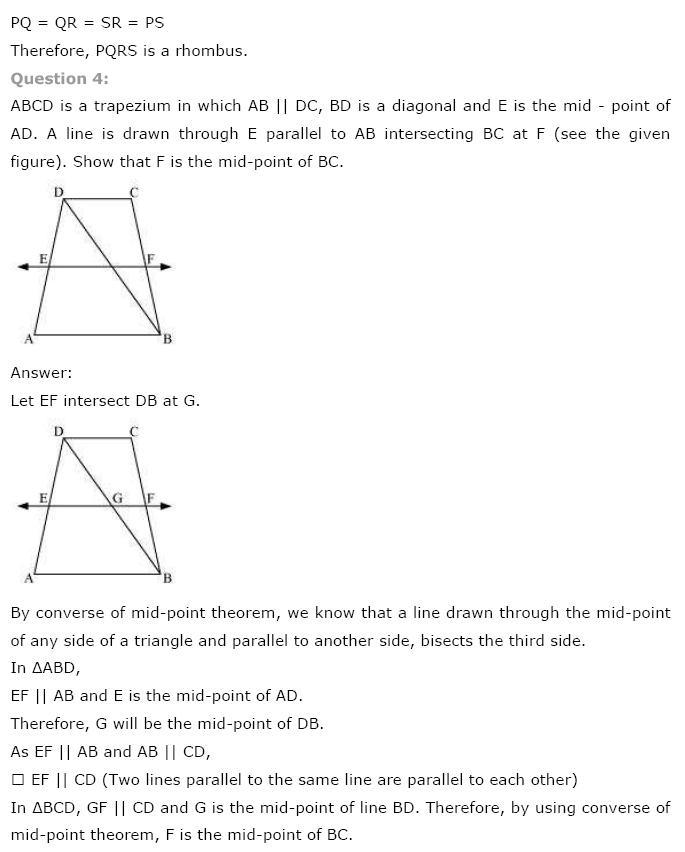 Quadrilaterals NCERT Solutions 17