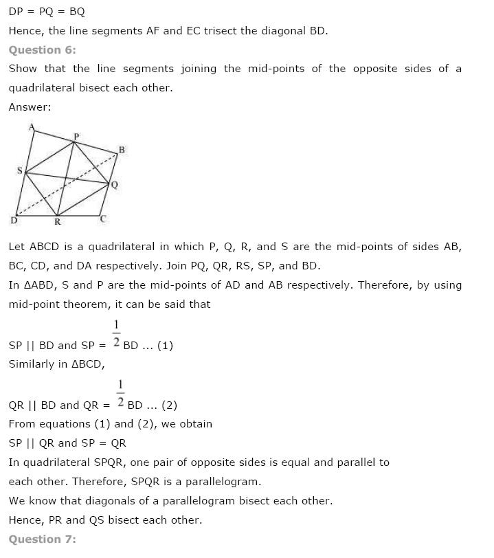 Quadrilaterals NCERT Solutions 19